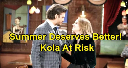 The Young and the Restless Spoilers: Summer Deserves Better - Arrogant Theo's Breakup Puts Lola and Kyle Marriage at Risk