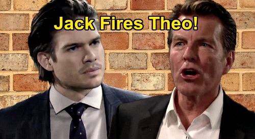 The Young and the Restless Spoilers: Theo Fired, Jack Kicks Nephew Out of Jabot – Kendra Plot Exposure Gives Kyle & Summer Win?