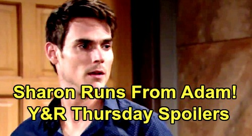 The Young and the Restless Spoilers: Thursday, August 22 – Adam's Outburst Sends Sharon Running to Nick – Chelsea's Surprise Deal