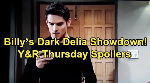 The Young and the Restless Spoilers: Thursday, August 29 – Surprise Savior Rescues Adam From Vengeful Billy's Dark Delia Showdown