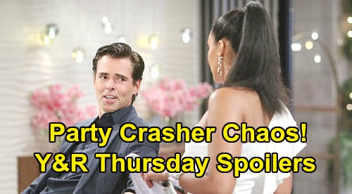 The Young and the Restless Spoilers: Thursday, February 20 – Party Crasher Drama Begins – Victor's Special Night Takes Violent Turn