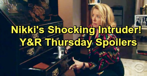 The Young and the Restless Spoilers: Thursday, January 17 – Armed Nikki's Surprise Intruder – Neil Frets Over Ana's Secrets