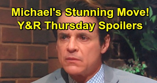 The Young and the Restless Spoilers: Thursday, July 25 – Michael's Bold Move Targets Adam – Abby and Nate's Passion Erupts