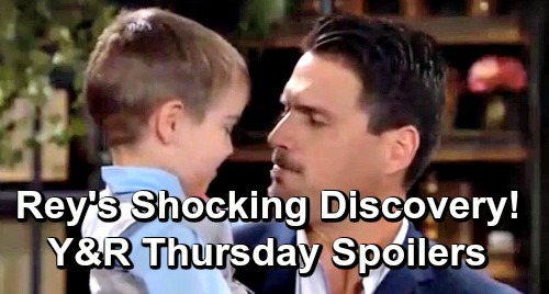 The Young and the Restless Spoilers: Thursday, June 6 – Rey Learns Shocking Secret – Nick's Evidence Hunt – Mariah's New Job