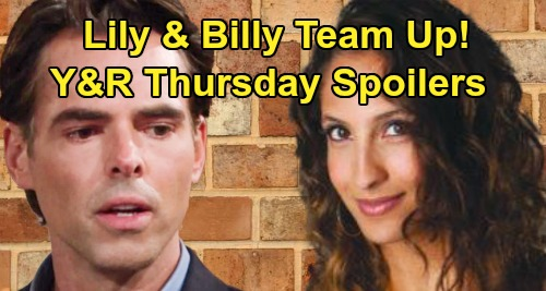 The Young and the Restless Spoilers: Thursday, March 12 – Billy & Lily Team Up, Jill's New Business Duo – Nick & Phyllis Can't Resist