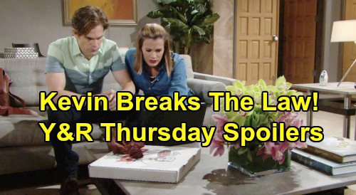 The Young and the Restless Spoilers: Thursday, October 3 - Newman Fallout Hits Victoria - Kevin Breaks The Law For Chelsea