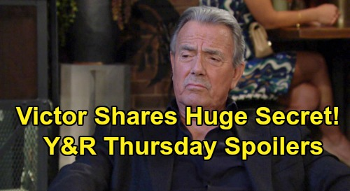 The Young and the Restless Spoilers: Thursday, September 12 – Victor Tells Nikki Startling Secret - Zoe Goes Down Thanks to Phyllis