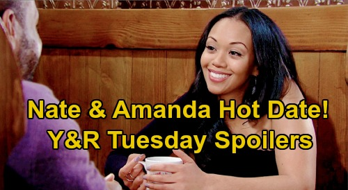 The Young and the Restless Spoilers: Tuesday, April 7 – Lola Wounded in Kyle & Theo's Battle – Amanda's Amazing Nate Date Night