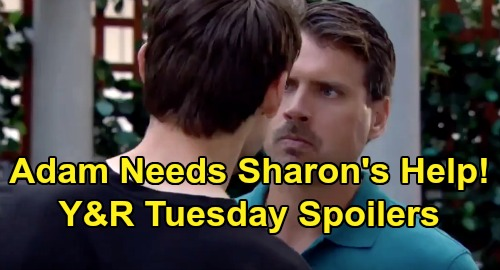 The Young and the Restless Spoilers: Tuesday, August 6 – Summer's Plus One Makes Trouble for Kyle – Bloody Adam Needs Sharon's Care