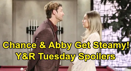 The Young and the Restless Spoilers: Tuesday, February 4 – Victor Retaliates Against Selfish Billy – Abby & Chance Get Steamy