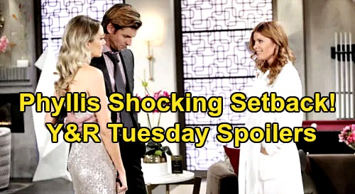 The Young and the Restless Spoilers: Tuesday, January 28 – Phyllis' Shocking Setback, Chance Strikes a Blow – Nick's the Boss