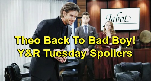 The Young and the Restless Spoilers: Tuesday, January 7 – Theo Back To Bad Boy – Amanda Confesses to Billy - Sharon Struggles