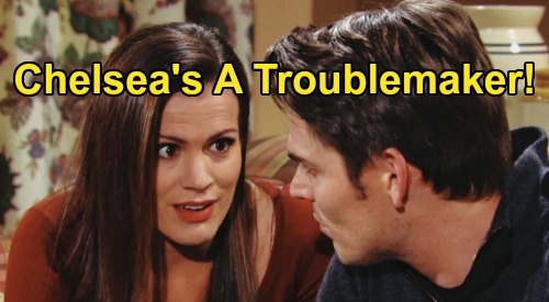 The Young and the Restless Spoilers: Tuesday, March 31 – Abby & Chance's Vengeful Phyllis Bomb – Chelsea Is a Troublemaker