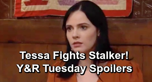The Young and the Restless Spoilers: Tuesday, May 7 – Nate is Abby's Hero – Summer Scores Win Over Lola – Tessa Fights Stalker