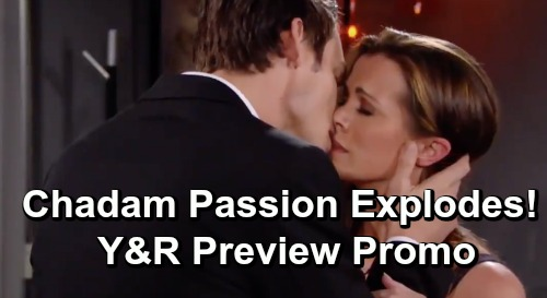 The Young and the Restless Spoilers: Week of June 24 Update – Adam Kisses Chelsea, Reignites Passion – Phyllis' Revenge Burns