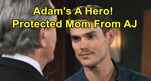 The Young and the Restless Spoilers: Adam the Boy Hero Protected Mom Hope, 'Dark' Secret Isn't Dark – Victor Should Be Proud