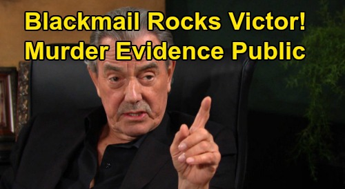 The Young and the Restless Spoilers: Victor Rocked by Blackmail – Surrender to Adam's Demands or Murder Evidence Goes Public