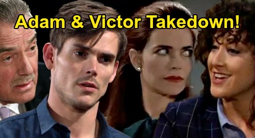 The Young and the Restless Spoilers: Alyssa & Victoria Team Up For Adam & Victor Takedown – Murder Blackmail Story Explodes?