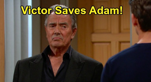The Young and the Restless Spoilers: Victor Saves Adam – Father & Son Fresh Start After AJ Murder Cover-Up?