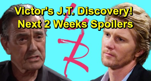 The Young and the Restless Spoilers Next 2 Weeks: Victor's J.T. Discovery - Summer Smashes Kola – Billy's Major Meltdown