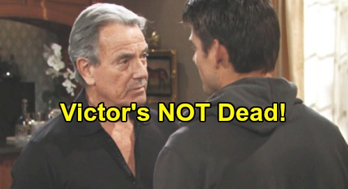 The Young and the Restless Spoilers: Victor's NOT Dead - Adam Duped by Death Trick – Pill Swapper Caught