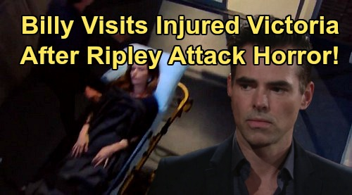 The Young and the Restless Spoilers: Billy Visits Wounded Victoria in Hospital – Ripley Attack Horror Leads To Victor's Ultimatum