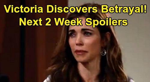 The Young and the Restless Spoilers Next 2 Weeks: Sharon Hides Diagnosis - Victoria Discovers Betrayal - Devon's Stunning Admission