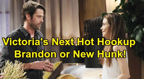 The Young and the Restless Spoilers: Victoria Deserves Hot Hookup After Billy Split – Brandon or A New Hunk?