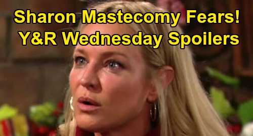 The Young and the Restless Spoilers: Wednesday, April 1 – Sharon Mastectomy Fears – Phyllis Misery Set in Motion – Theo Plan Flops