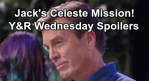 The Young and the Restless Spoilers: Wednesday, August 14 – Jack's Celeste Mission – Ashley Advises Abby – Adam and Victor Spar