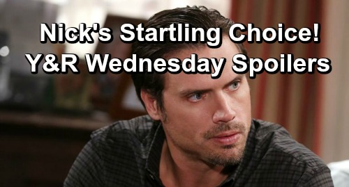 The Young and the Restless Spoilers: Wednesday, January 16 – Lily's Bombshell Rocks Cane – Nick Makes a Startling Choice