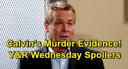 The Young and the Restless Spoilers: Wednesday, July 10 – Calvin's Murder Shocker – Adam's Dirty Orders – Jill Returns to GC