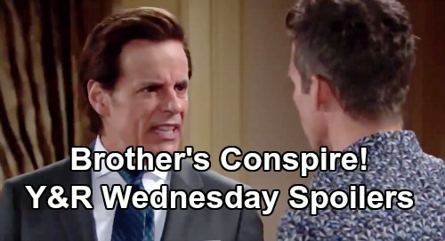 The Young and the Restless Spoilers: Wednesday, July 17 - Nick Fights For Christian - Brothers Conspire - Phyllis Covers Her Tracks