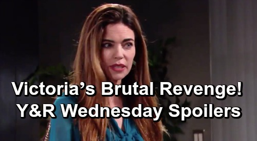The Young and the Restless Spoilers: Wednesday, July 3 – Victoria's Brutal Revenge – Summer Takes a Gamble – Victor's Big Surprise