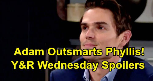 The Young and the Restless Spoilers: Wednesday, July 31 – Adam Outsmarts Phyllis, Delivers Major Blow – Michael Charges Ahead