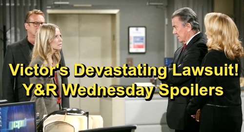 The Young and the Restless Spoilers: Wednesday, June 12 – Victoria's Secret Revealed – Victor's Devastating Lawsuit