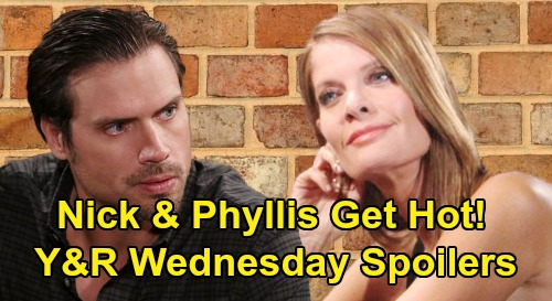 The Young and the Restless Spoilers: Wednesday, March 4 – Phyllis & Nick Get Hot - Kevin Trapped - Ashley & Jack's Dina Talk
