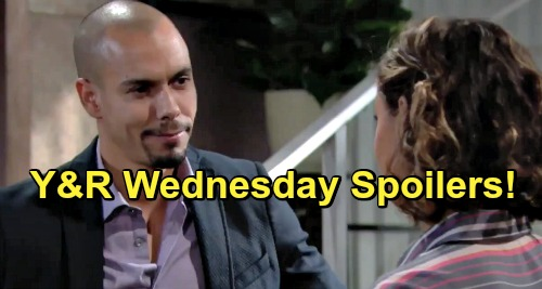 The Young and the Restless Spoilers: Wednesday, May 22 – Victor Battles with Billy – Reality Hits Sharon Hard – Devon Pulls Elena Closer