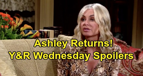 The Young and the Restless Spoilers: Wednesday, November 13 – Ashley Back for Theo Chaos – Chance Grills Amanda, Forces Confession