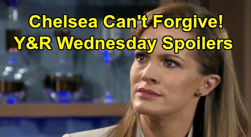 The Young and the Restless Spoilers: Wednesday, October 2 - Jack's Big Jabot Changes - Chelsea Makes Nick Pay For Connor's Pain