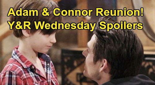 The Young and the Restless Spoilers: Wednesday, October 23 – Phyllis' Sneaky Move – Adam and Connor's Reunion – Shey's New Chapter