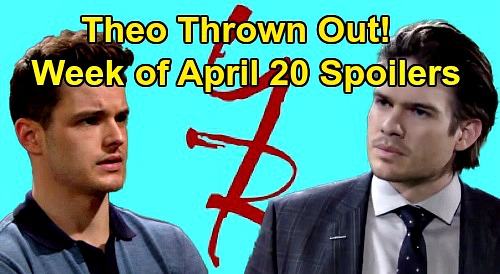 The Young and the Restless Spoilers: Week of April 20 – Theo's Out - Victor Secret Rocks Adam – Baby News - Sharon Scary Surgery