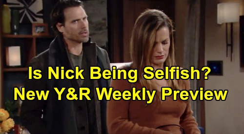 The Young and the Restless Spoilers: Week of December 2-6 Preview - Nick Makes Chelsea's Life Hard - Billy Backs Up Amanda - Terrible Storm