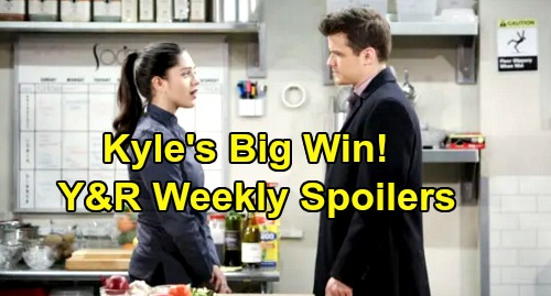 The Young and the Restless Spoilers: Week of December 9 – Kyle Wins Big - Victor's Secret Mission – Adam Slams Phyllis
