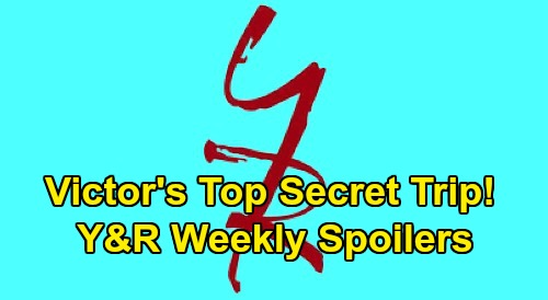 The Young and the Restless Spoilers: Week of March 23 – Victor's Top-Secret Trip – Mariah's Heartbreak – Billy & Nick At War