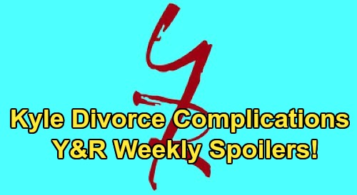 The Young and the Restless Spoilers: Week of March 30 – Kyle Divorce Complications - Billy Not Scared of Victor – Chelsea Stirs The Pot