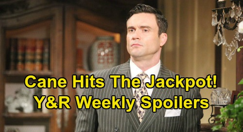The Young and the Restless Spoilers: Week of October 14 – Cane Hits the Jackpot - Billy Faces Victor's Fury – Phyllis Hides Trail