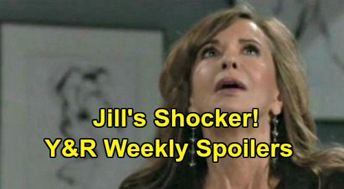 The Young and the Restless Spoilers: Week of October 21 - Jill's Shocker – Victor Challenges Chelsea – Summer's Inner Battle