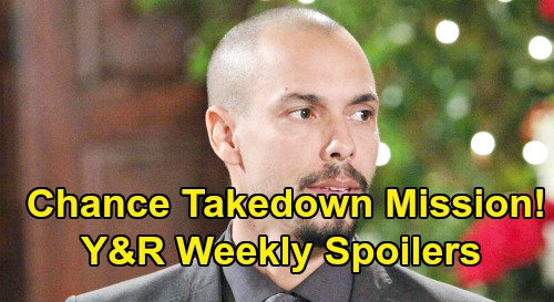 The Young and the Restless Spoilers: Week of September 16 – Chance Takedown Mission – Jack Road Trip Surprise – Nikki Wants Justice
