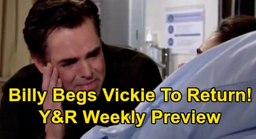 The Young and the Restless Spoilers: Week of February 24-28 Preview – Billy Begs Victoria to Come Back – Coma Crisis Tragedy